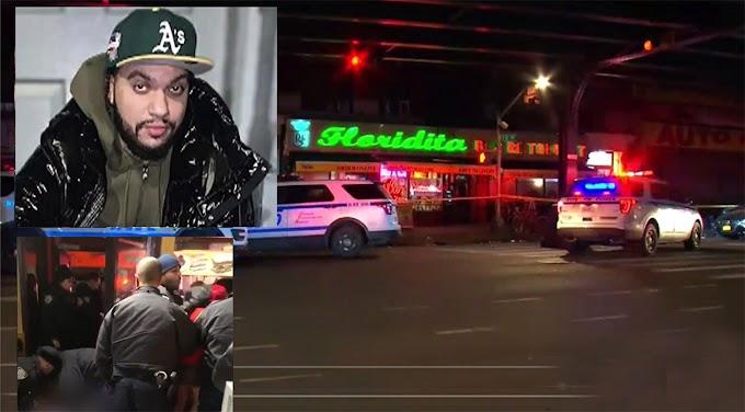 Un dominicano asesinado, mujer y hombre heridos en popular restaurante del Alto Manhattan