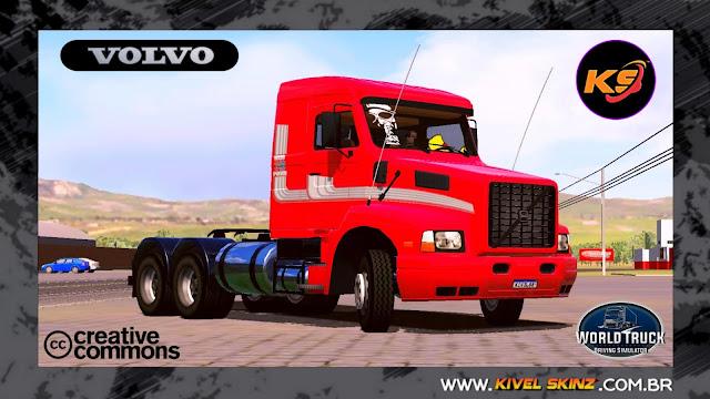 VOLVO NL12 EDC - FAIXAS ORIGINAIS VERMELHO