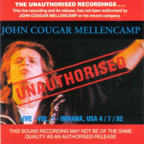 Rock On Vinyl John Cougar Mellencamp Unauthorised 1993