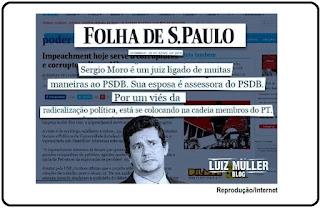 Folha de S. Paulo confirmou que mulher de Moro é assessora do PSDB?