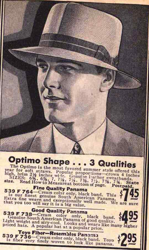 1e70f0664881c4 Fedoras are one of those hats that are evocative of the 20th century and  well ensconced in literature and film of the period. The aura of danger  comes from ...