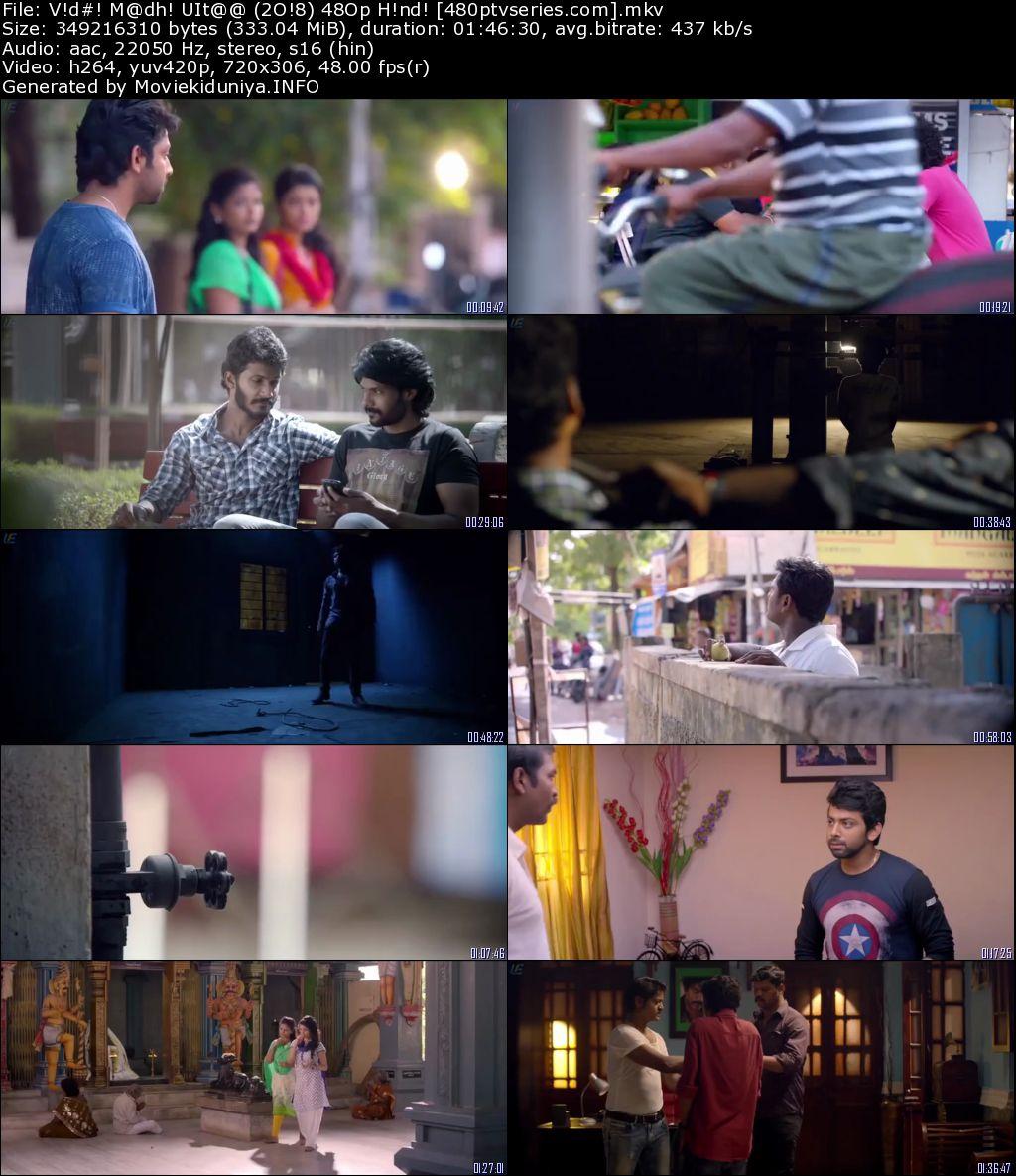 Vidhi Madhi Ultaa (2018) 300Mb Full Hindi Dual Audio Movie