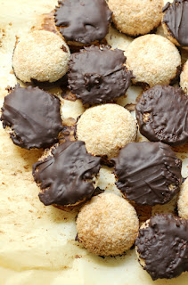 12 Keto-Friendly Desserts - Chocolate-Dipped Coconut Macaroons
