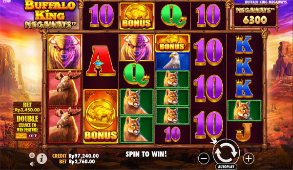 Main Gratis Slot Indonesia - Buffalo King Megaways Pragmatic Play