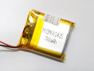 Baterai Smartwatch Seri 602425 700mAh