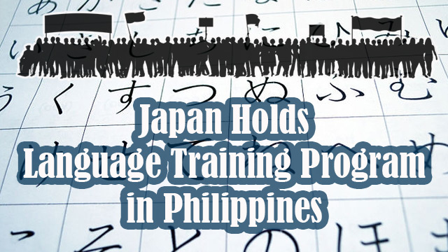 Japan Holds Language Training Program in Philippines