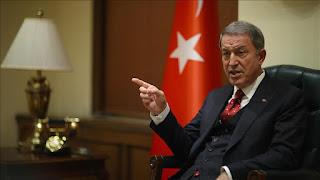 Menhan Turki: Kami Bom 54 Lokasi Militer Suriah, 76 Tewas