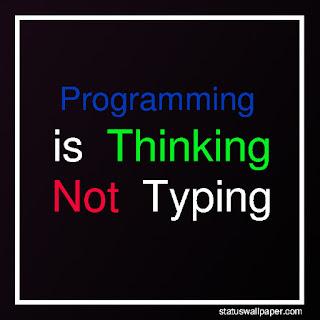 whatsapp status for programmers