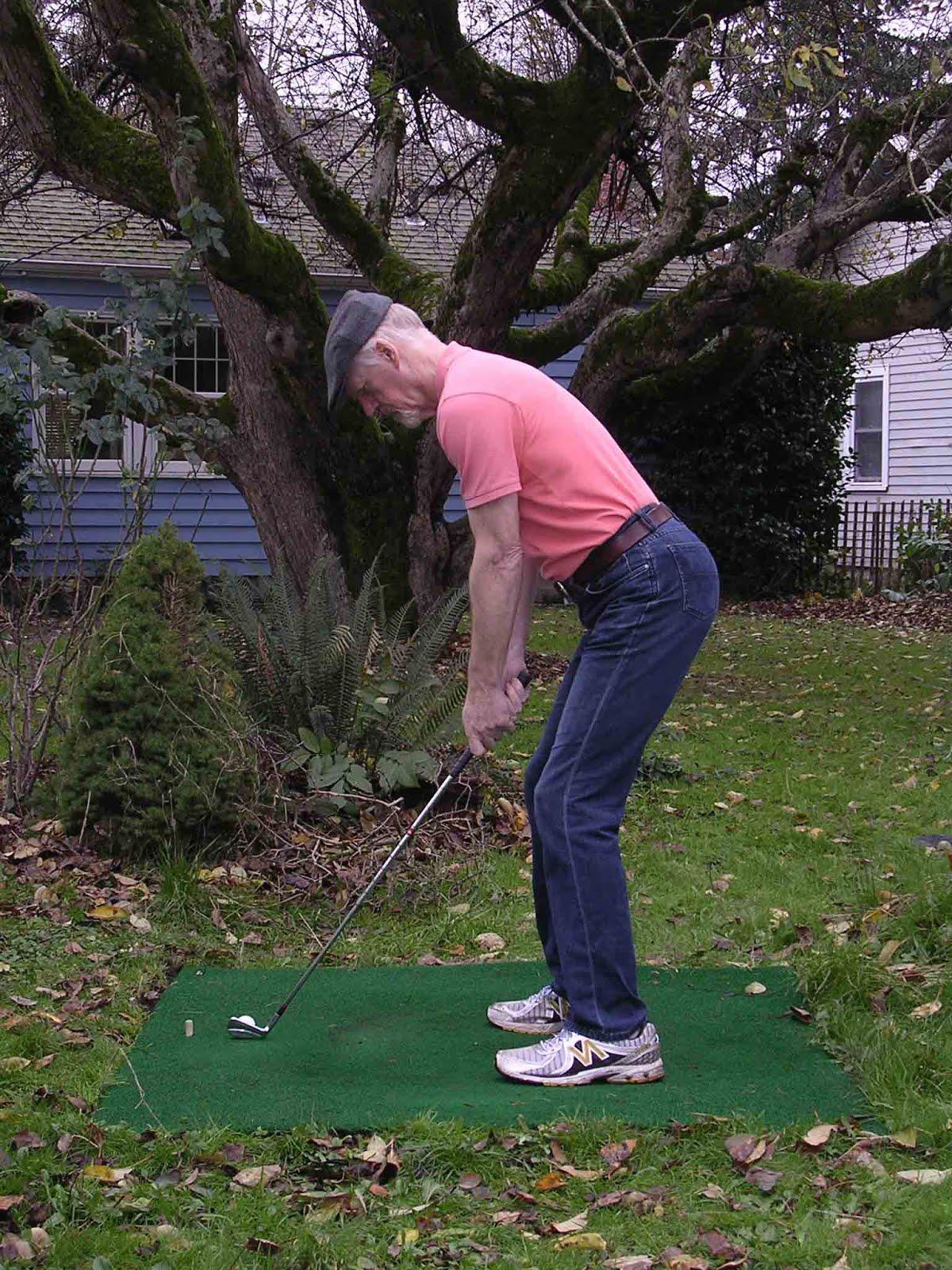 Golf Swing For Tall Golfers