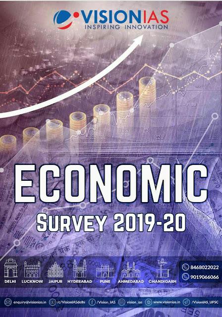 Vision IAS Economic Survey 2019-20 Volume- I & II : For UPSC Exam PDF Book