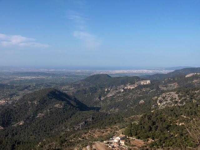 Vistas desde el Castillo de Alaró