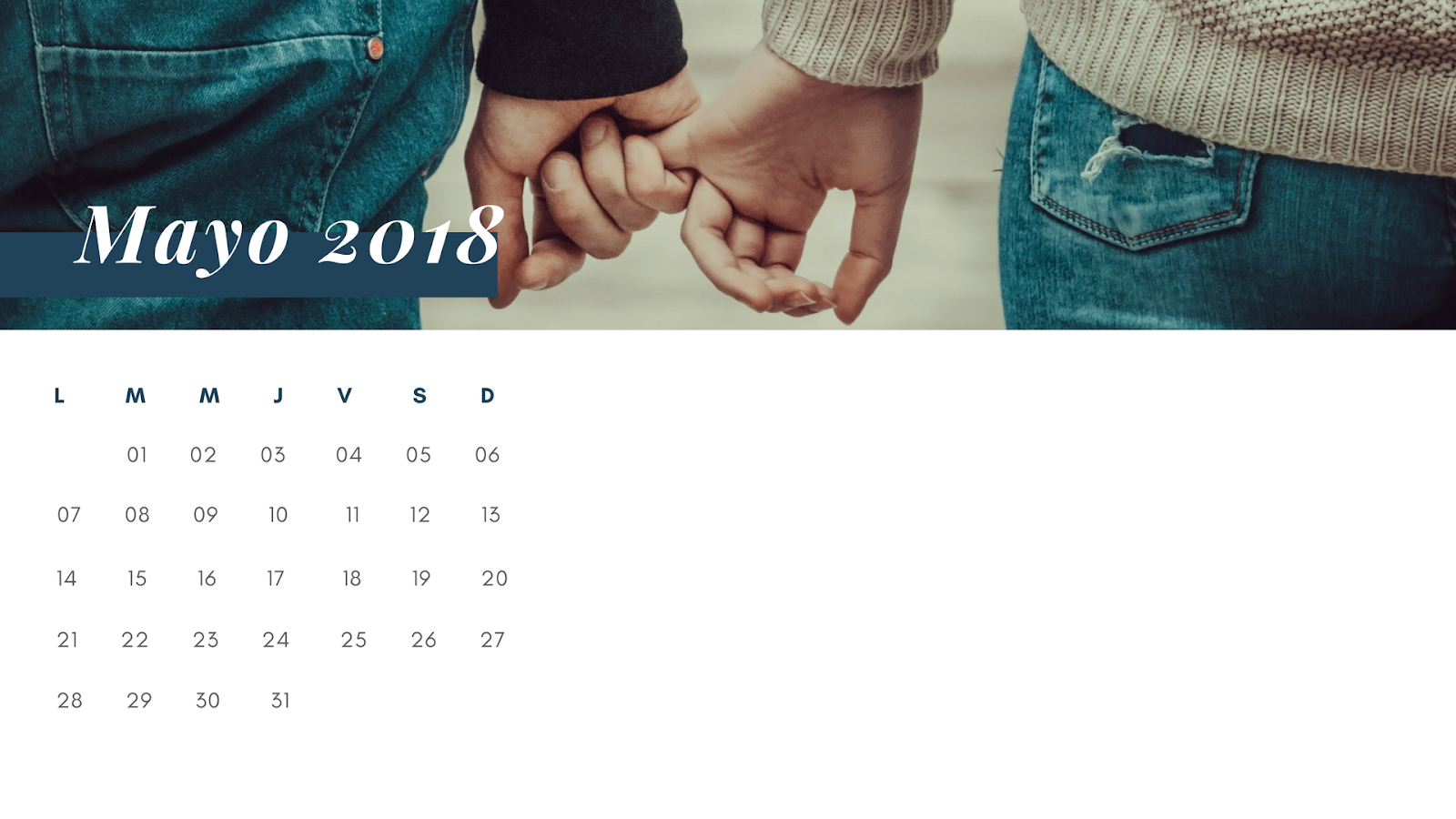 Fondos Para Móvil Bonitos Calendario Wallpaper Mayo 2018