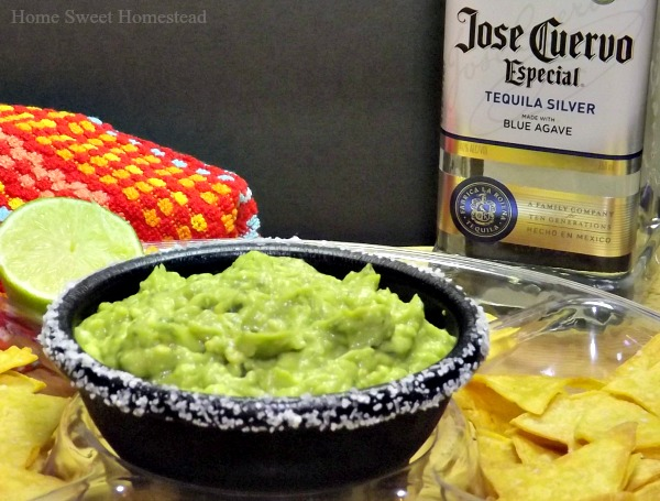 Margarita Guacamole - Home Sweet Homestead