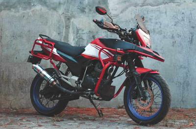 Modifikasi Touring Honda MegaPro