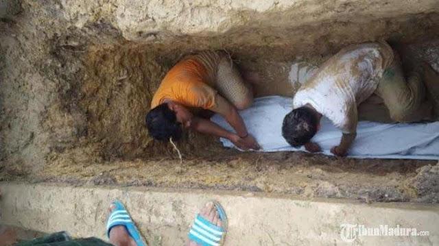 Allahu Akbar, Jenazah Kiai Madura Masih Utuh dan Wangi Padahal Sudah 3 Tahun Dikubur, Begini Sosoknya Saat Hidup