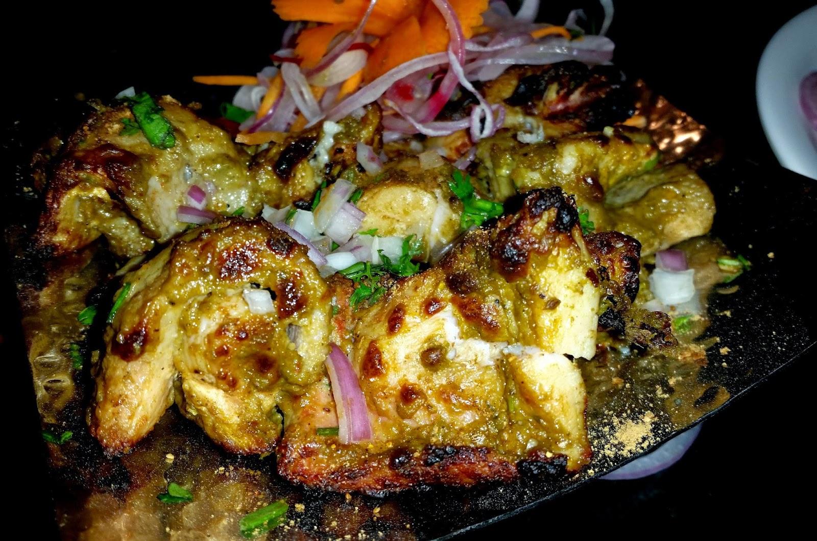 Gongura Fish Kabab
