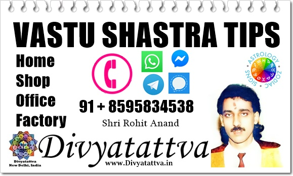 Vastu Shastra Tips From Vastu Expert Online India : Vasthu Consultant Shri Rohit Anand