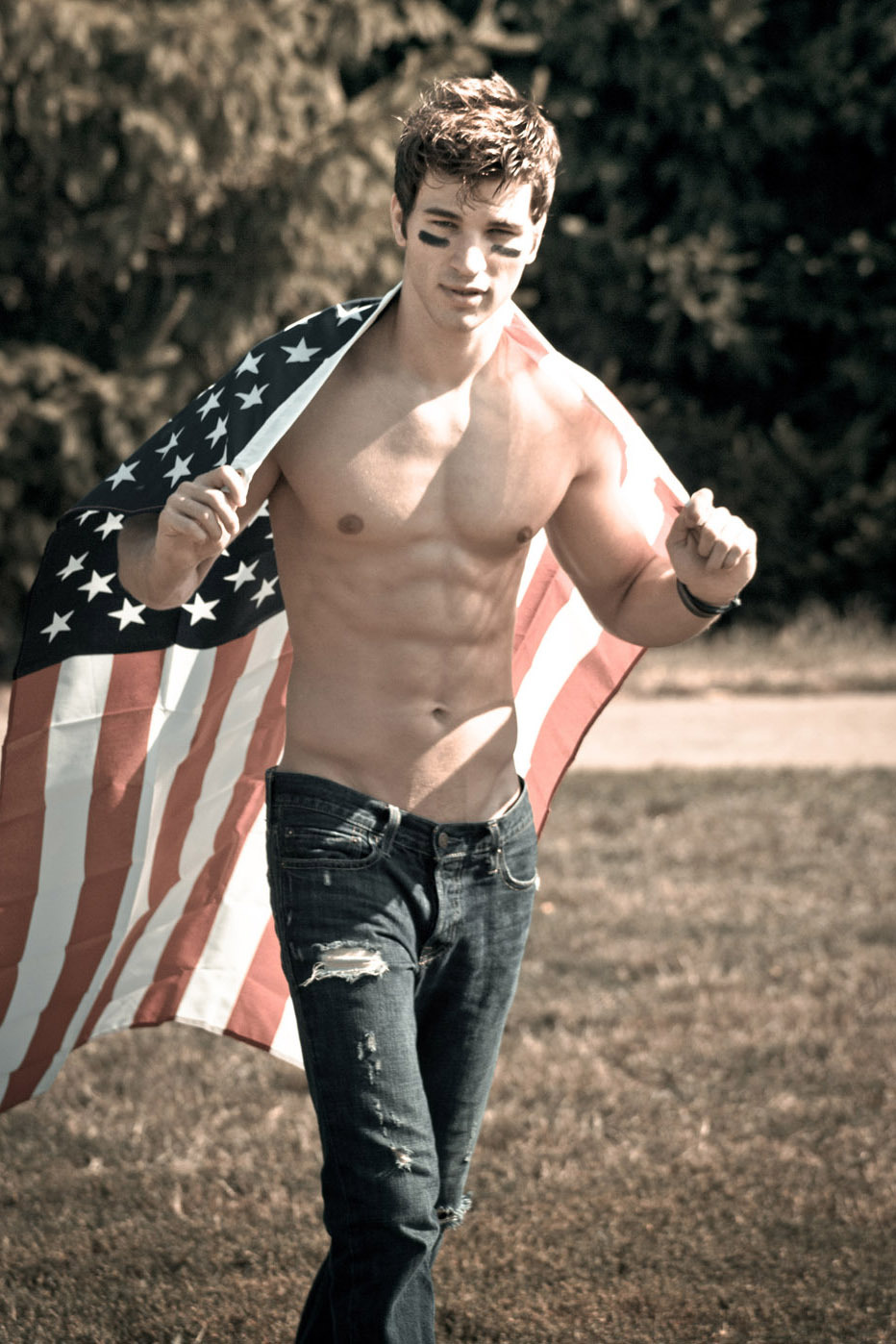 handsome-shirtless-fit-dude-wearing-american-flag