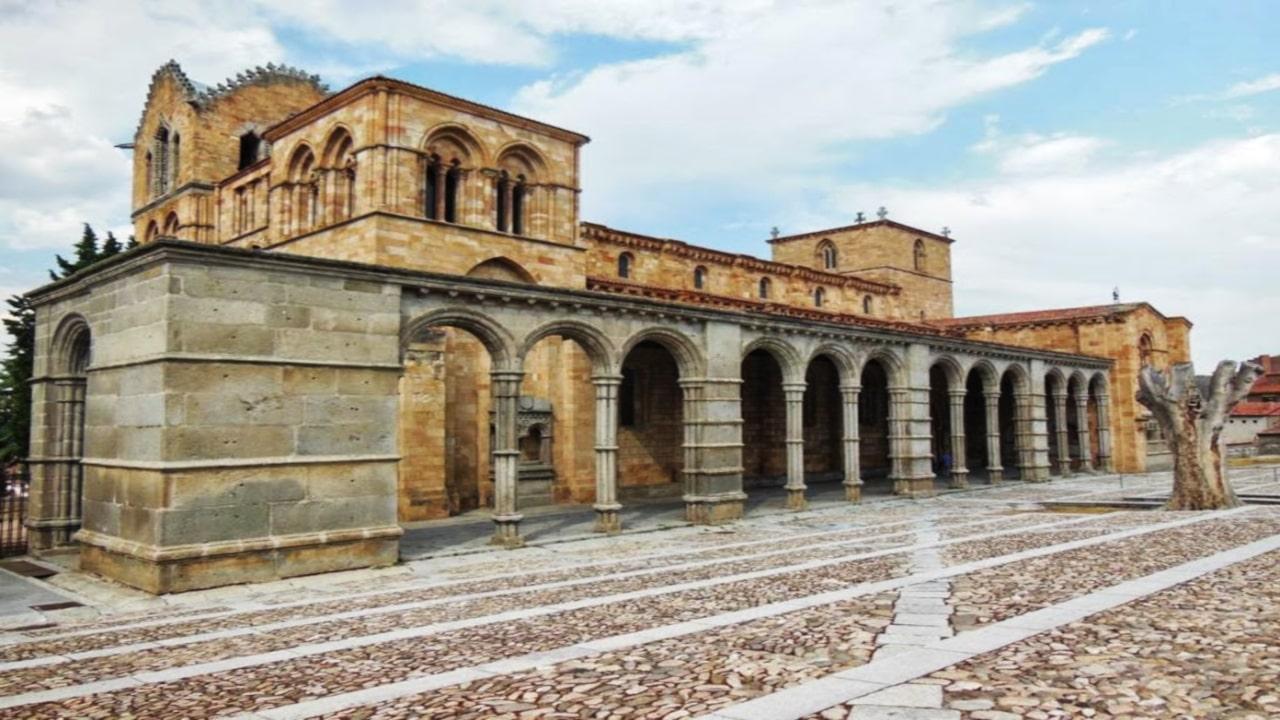 arquitectura románica dibujo