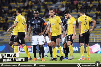 Peluang Terengganu FC perbaiki kedudukan Liga Super terbantut selepas kekalahan kali ke-6 malam tadi