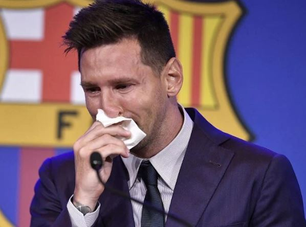 Emotional Lionel Messi To Good Bye