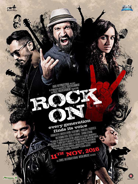 Poster Rock On 2 (2016) Full Hindi Movie Download in HD 480p