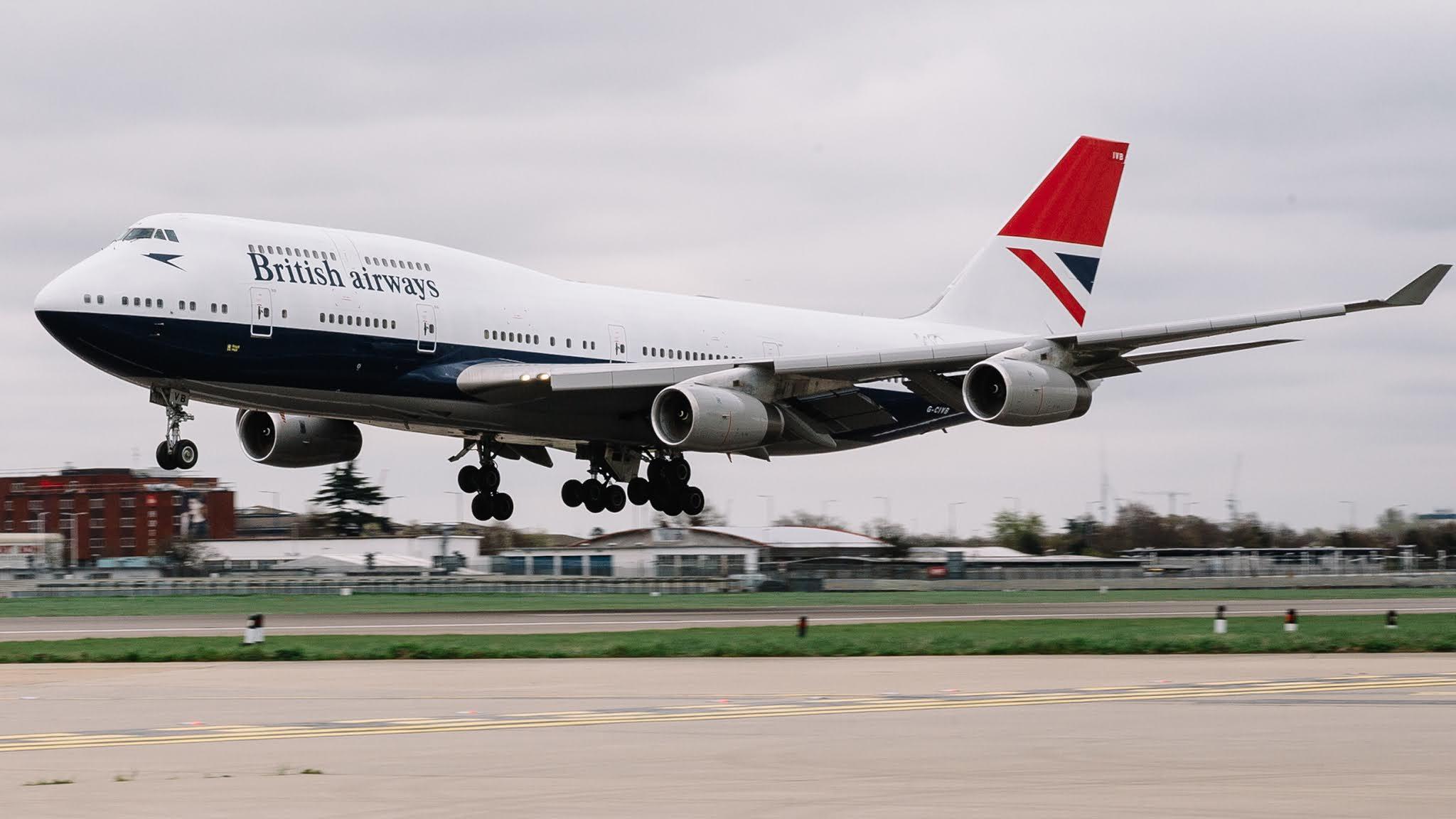 Ultimo Boeing 747 da British Airways decola nesta manhã (dia 8) de Londres – Heathrow para ser aposentado | É MAIS QUE VOAR
