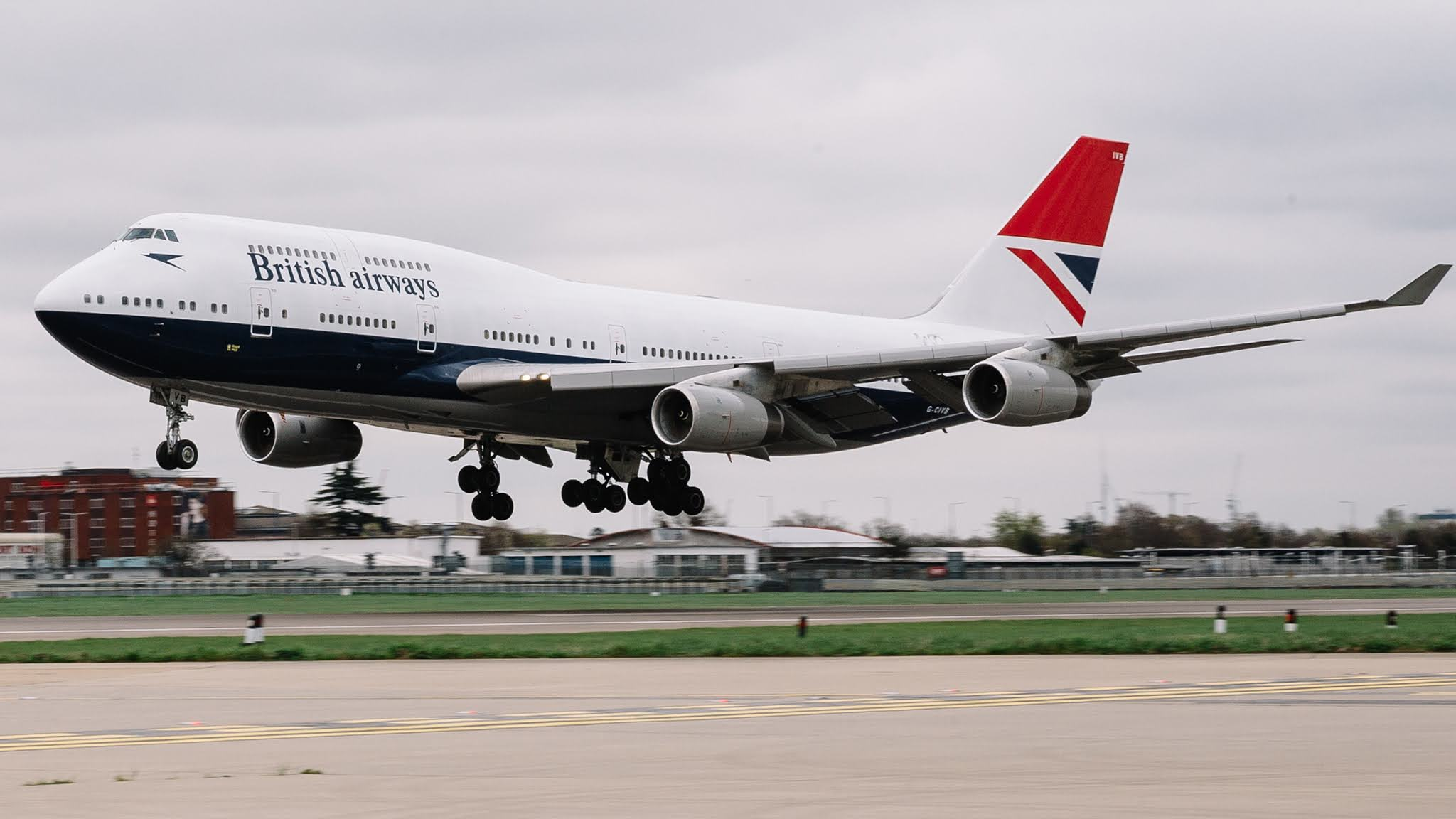British Airways' last Boeing 747 takes off this morning (8th) from London Heathrow to be retired | MORE THAN FLY