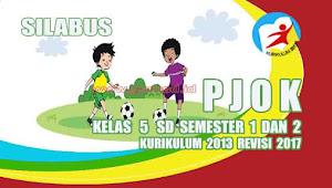 Silabus PJOK Kelas 5 SD Kurikulum 2013 revisi 2017