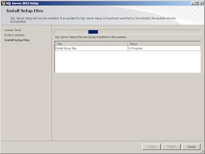 Cara Install SQL Server 2012