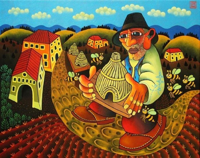 Детский и красочный мир. Guido Vedovato