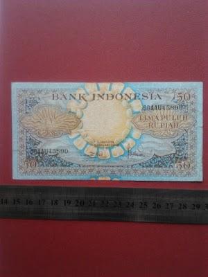 50 rupiah tahun 1959