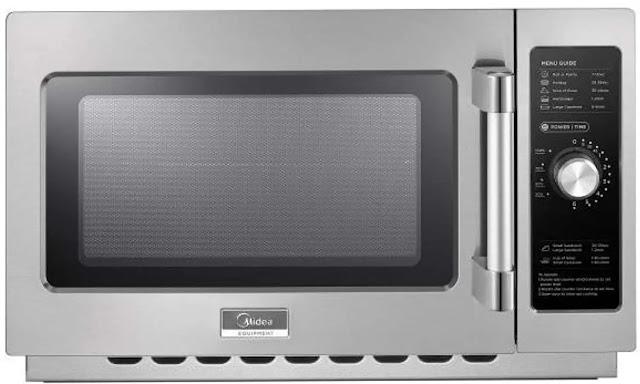 10. Midea Equipment 1434N0A Medium Commercial Microwave Controls