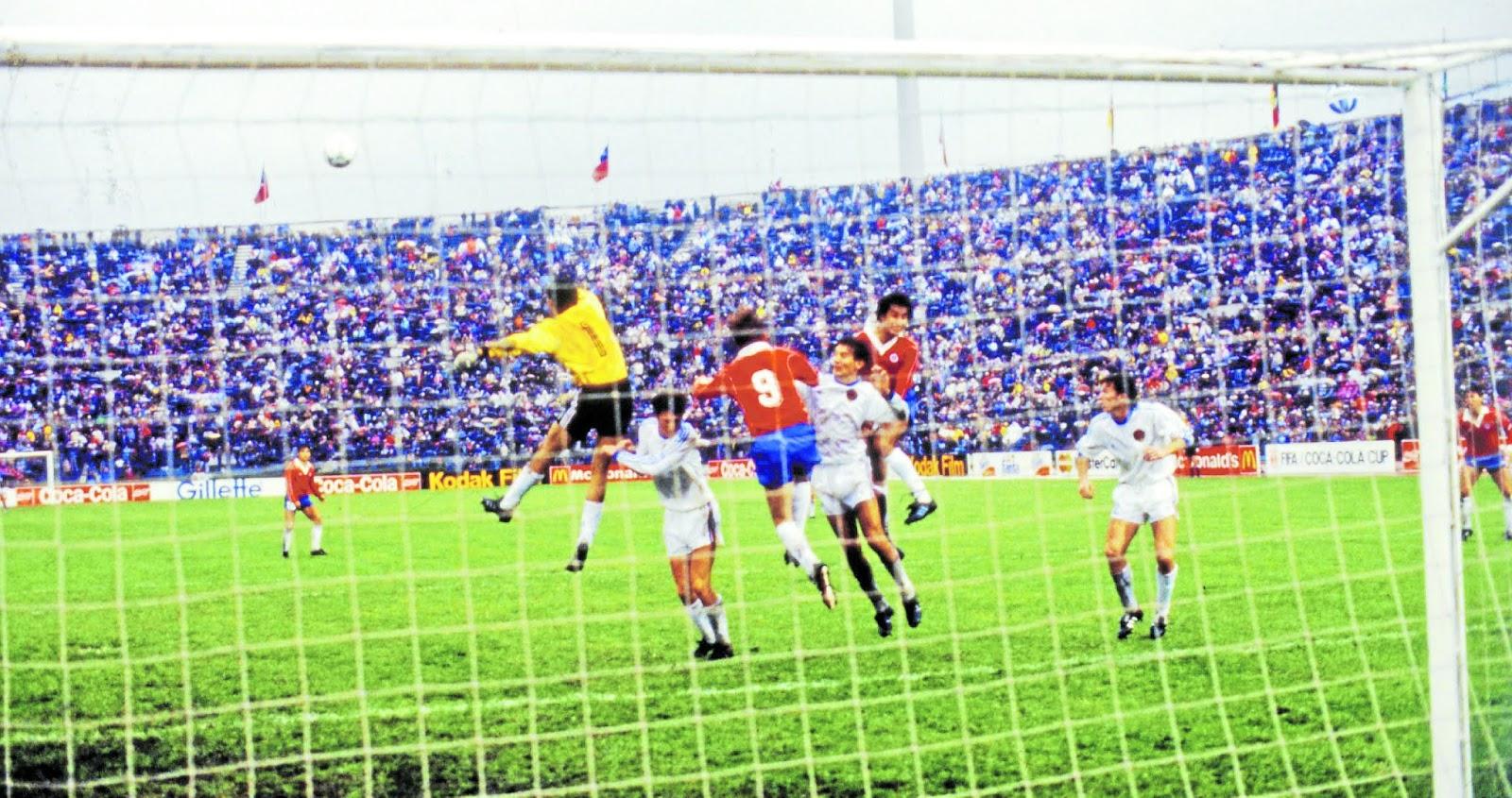 Chile y Yugoslavia en Copa del Mundo Sub-20 Chile 1987, 10 de octubre