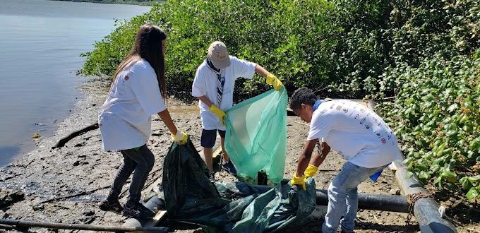Juntos pelo Rio: embarcações partem da Marina Itajaí para mutirão de limpeza