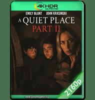 UN LUGAR EN SILENCIO: PARTE II (2021) WEB-DL 2160P HDR MKV ESPAÑOL LATINO