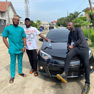 Davido Gifts A Member Of His Crew A Brand New Car