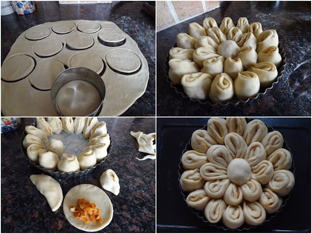 Chrysanthemum bread