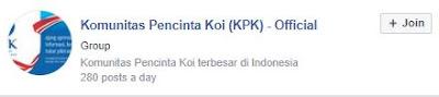 Komunitas Pecinta Koi (KPK) - Official ( 16rb++ Member )