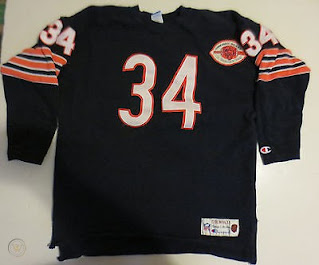 Chicago Bears Walter Payton Champion Throwbacks jersey