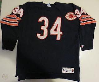 Chicago Bears Walter Payton Champion Throwbacks jersey