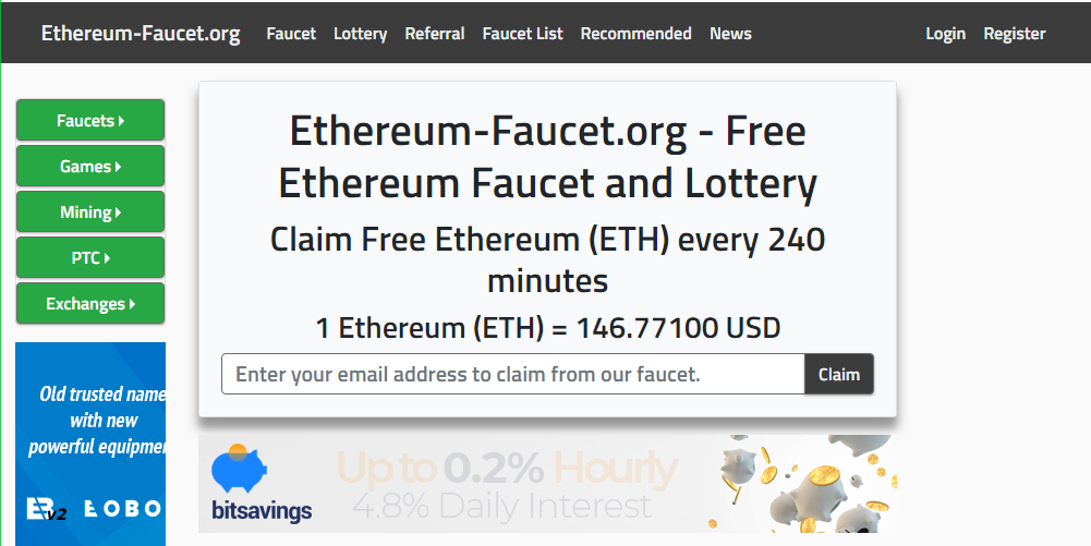 How To Get Free Ethereum Faucet Instant Payout From Ethereum-faucet.org