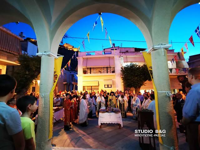 Η εορτή της Αγίας Τριάδος στην Πρόνοια Ναυπλίου (βίντεο)