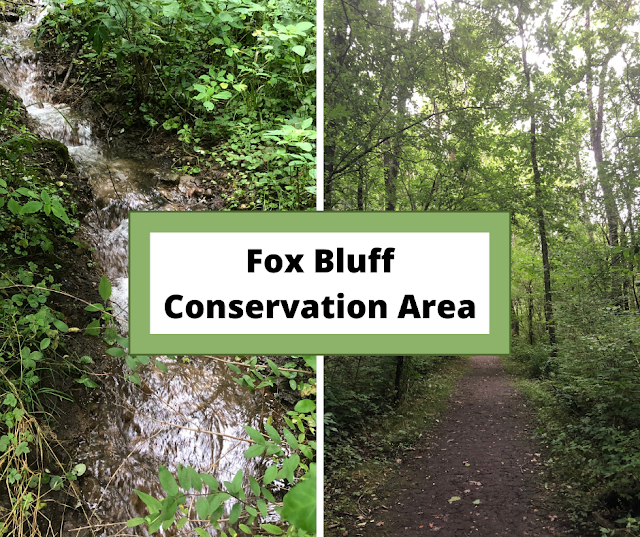 Rolling Trails and Rambling Water at Fox Bluff Conservation Area in Algonquin, Illinois