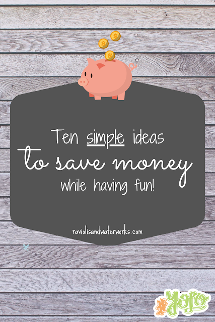 how to save money yolo; enjoying life and saving money