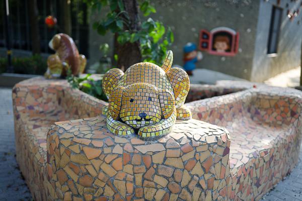 嘉義新港板陶窯交趾剪黏工藝園區,適合親子同遊的景點,好逛好拍