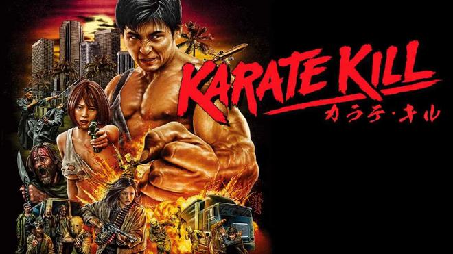 Poster de Karate Kill 2016