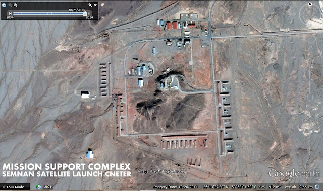 Image Attribute: Mission Support Complex, Semnan / Source: Google Earth