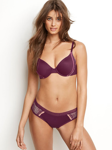 Taylor Marie Hill sexy lingerie topless photo