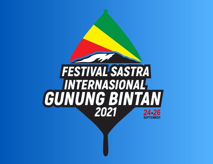 Logo Festival Sastra Internasional Gunung Bintan 2021